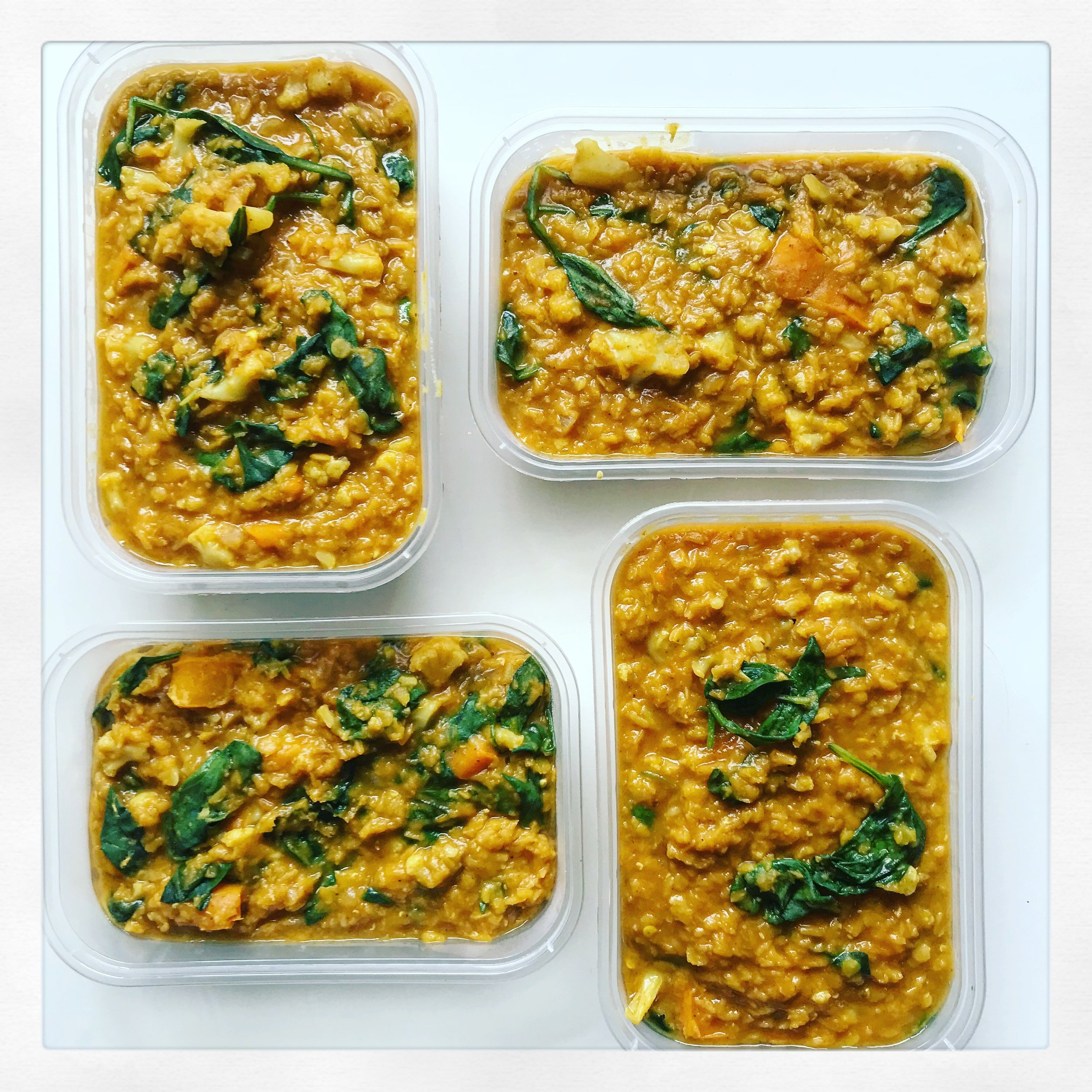 Warming Vegetable and Lentil Daal -