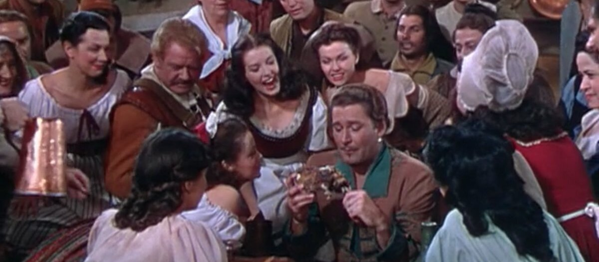Adventures of Don Juan (1948) - 3/5 — The Boneyard
