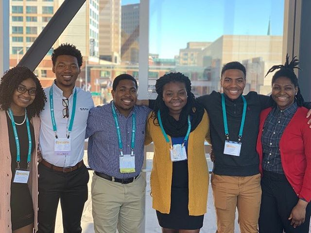 Clemson NPHC had a great time representing their chapters and council at the Association of Fraternal Values and Leadership Central Conference, featuring the National Black Greek Leadership Conference in Indianapolis, IN this weekend with two other councils (@clemsonmgc and @clemsonpanhellenic). #AFLVCENTRAL #NBGLC #clemson