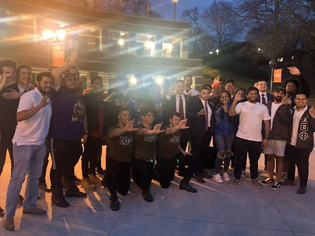 Congratulations, @clemsonlambdas, on initiating your new members! Welcome to Greekdom!