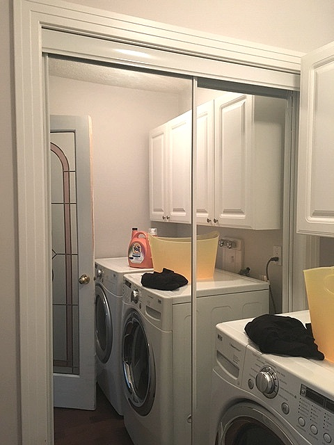 Laundry Room Before: -
