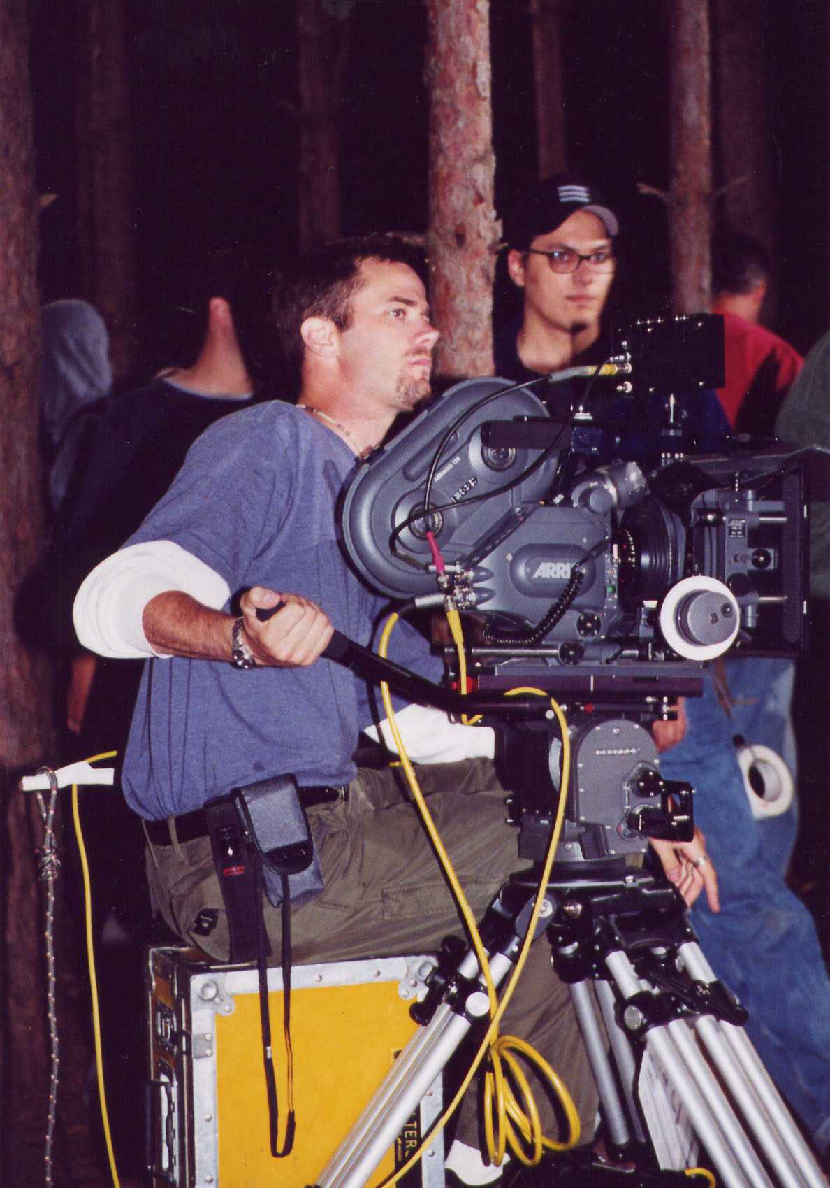 Filming and Directing Rob Bell in Nooma 001 - RAIN - Michigan 2001