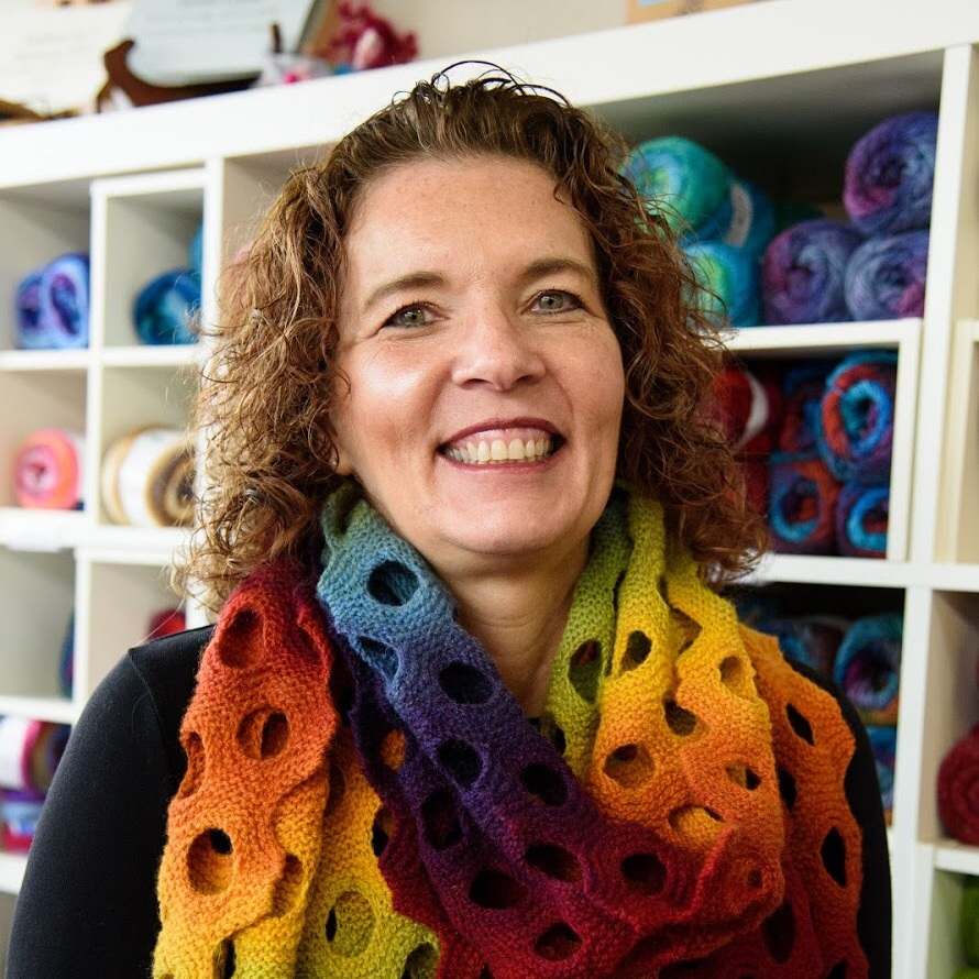 DENISE DEVEREUX - Knitting Class Instructor and Gift Specialist