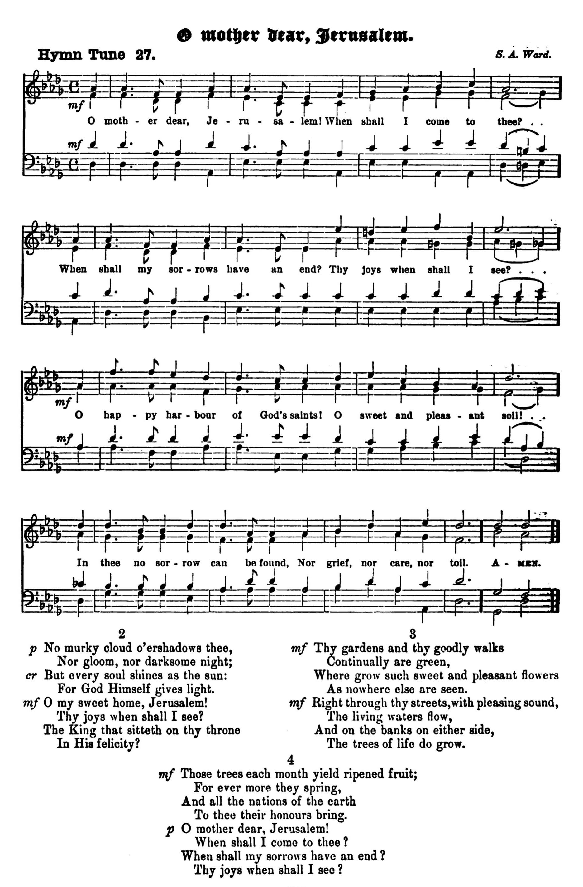 Fig. 3.   The Parish Choir  (12 July 1888).