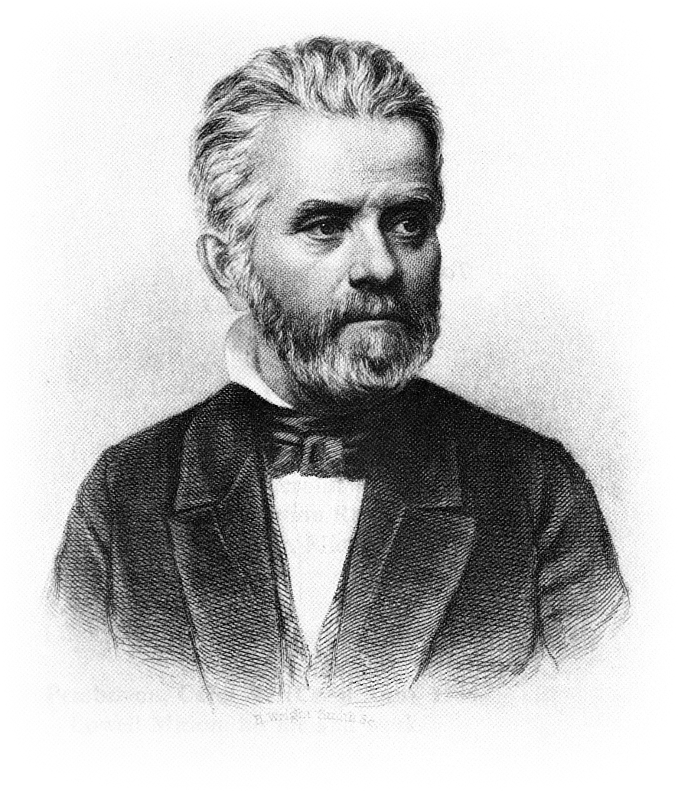 Lowell Mason , ca. 1840, engraved by H. Wright Smith, Boston Public Library.