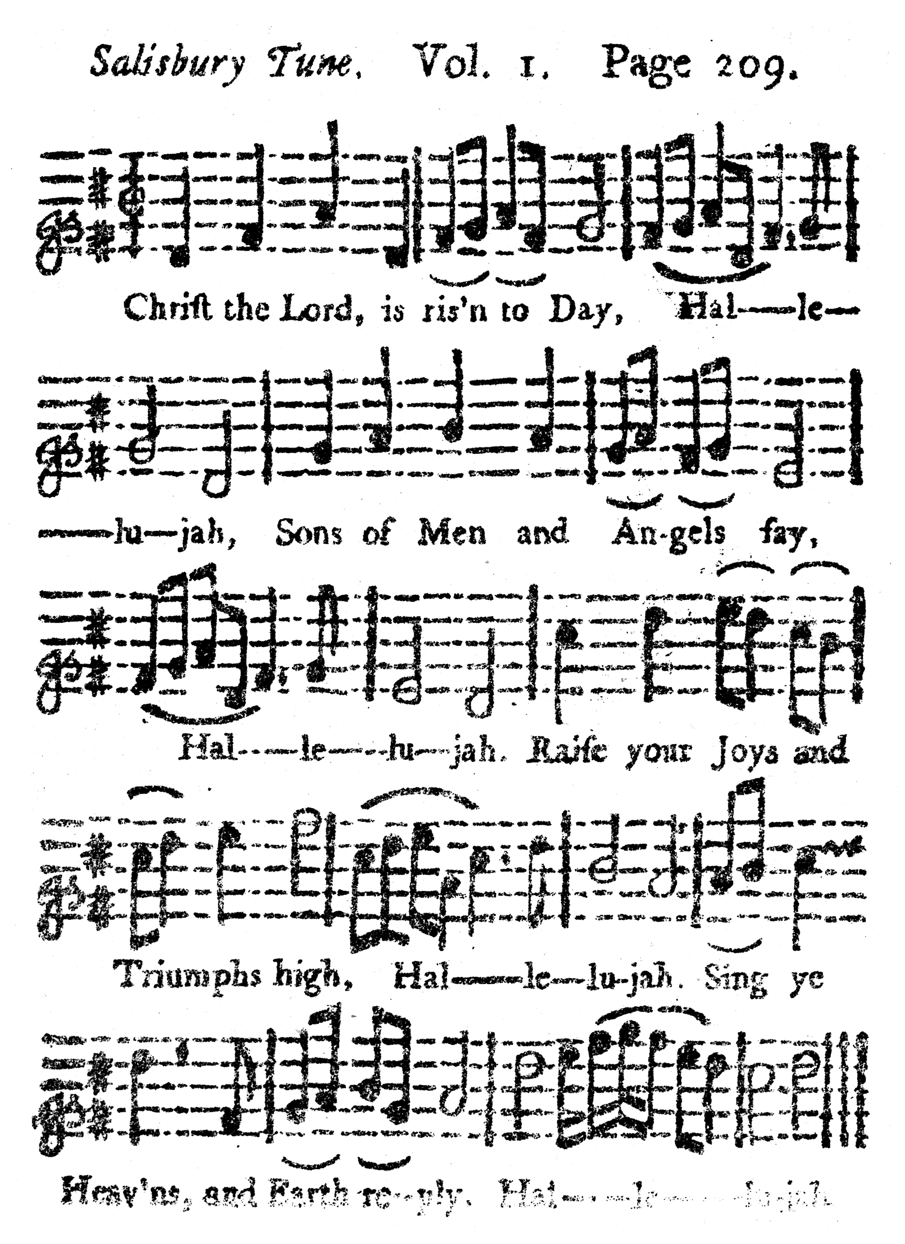 Fig. 8.   A Collection of Tunes ... Sung at the Foundery  (1742).