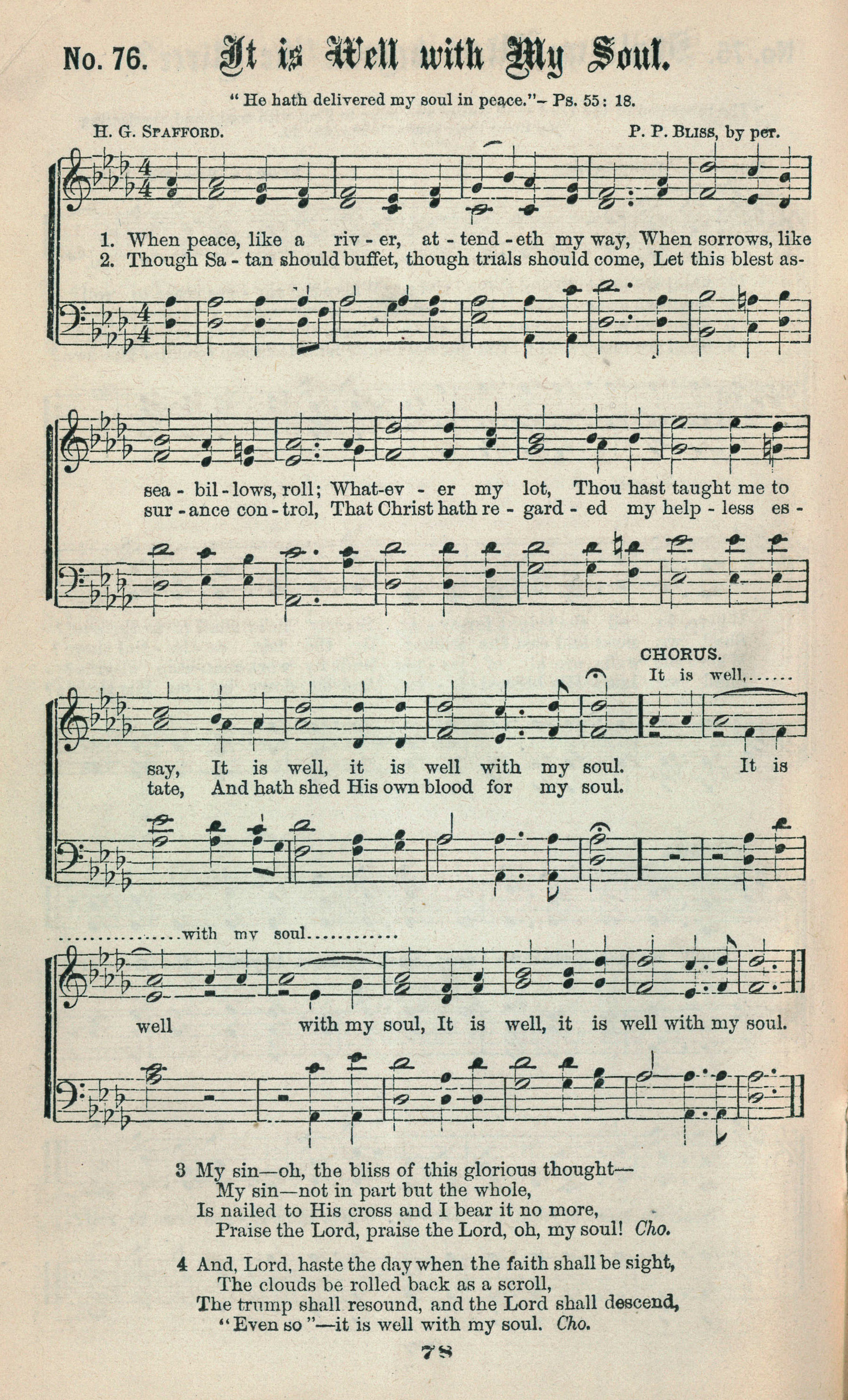 Fig. 2.  Ira Sankey & Philip Bliss,  Gospel Hymns No. 2  (1876).