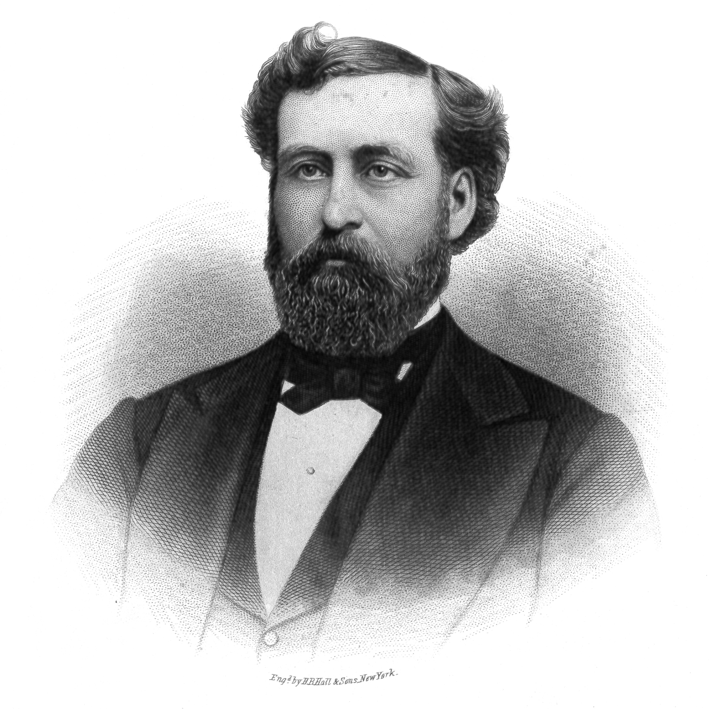 Philip P. Bliss , engraved by B.B. Hall & Sons, NY, in  Memoirs of Philip P. Bliss  (1877).