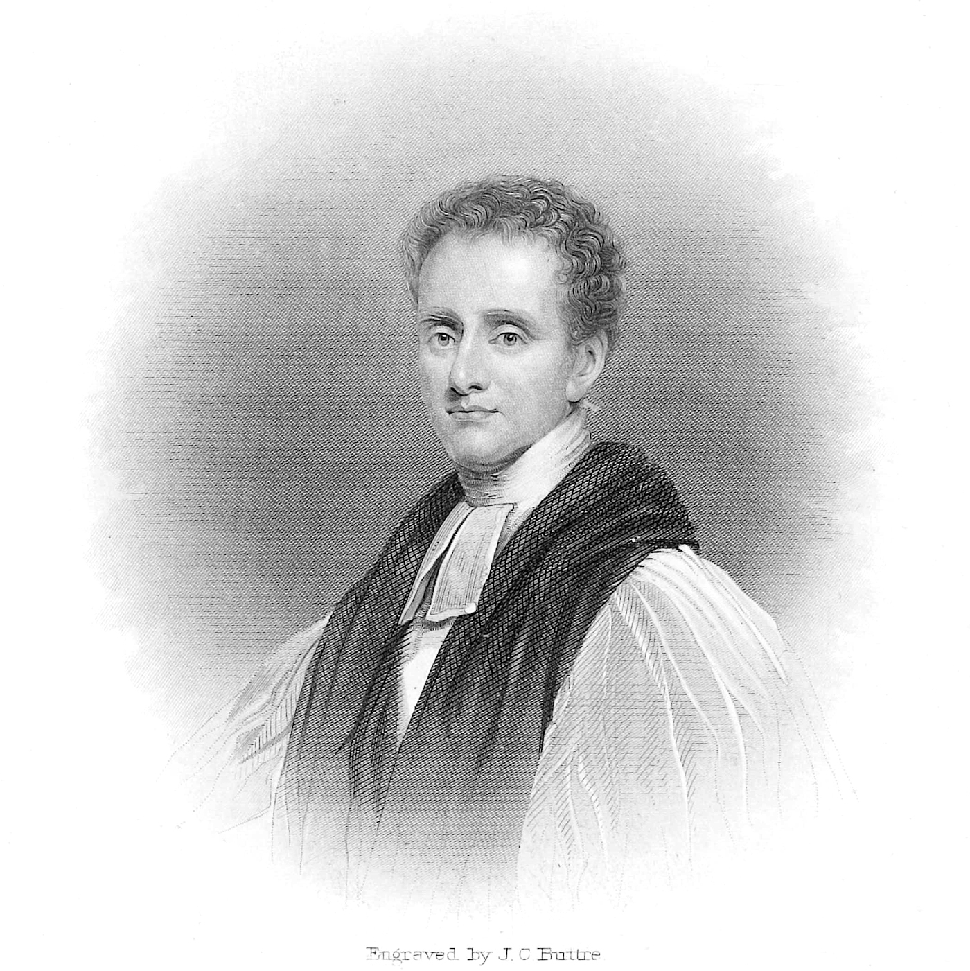 Reginald Heber , from Edwin Long,  Illustrated History of Hymns and Their Authors  (ca. 1882).