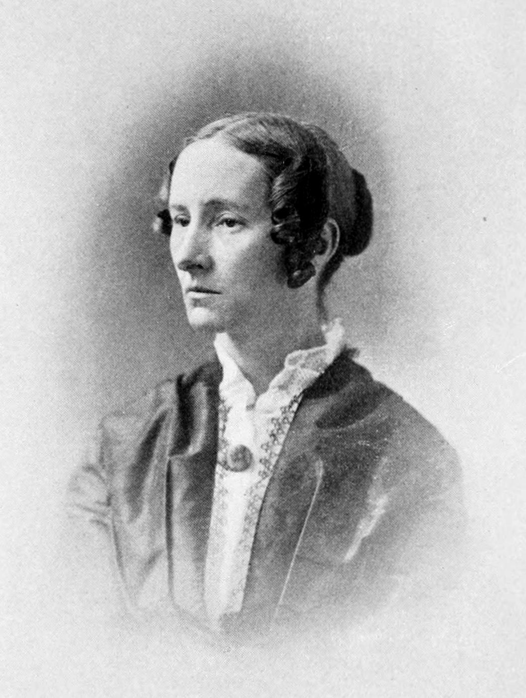 Anna Bartlett Warner , from  Susan Warner  (New York: G.P. Putnam's Sons, 1909).