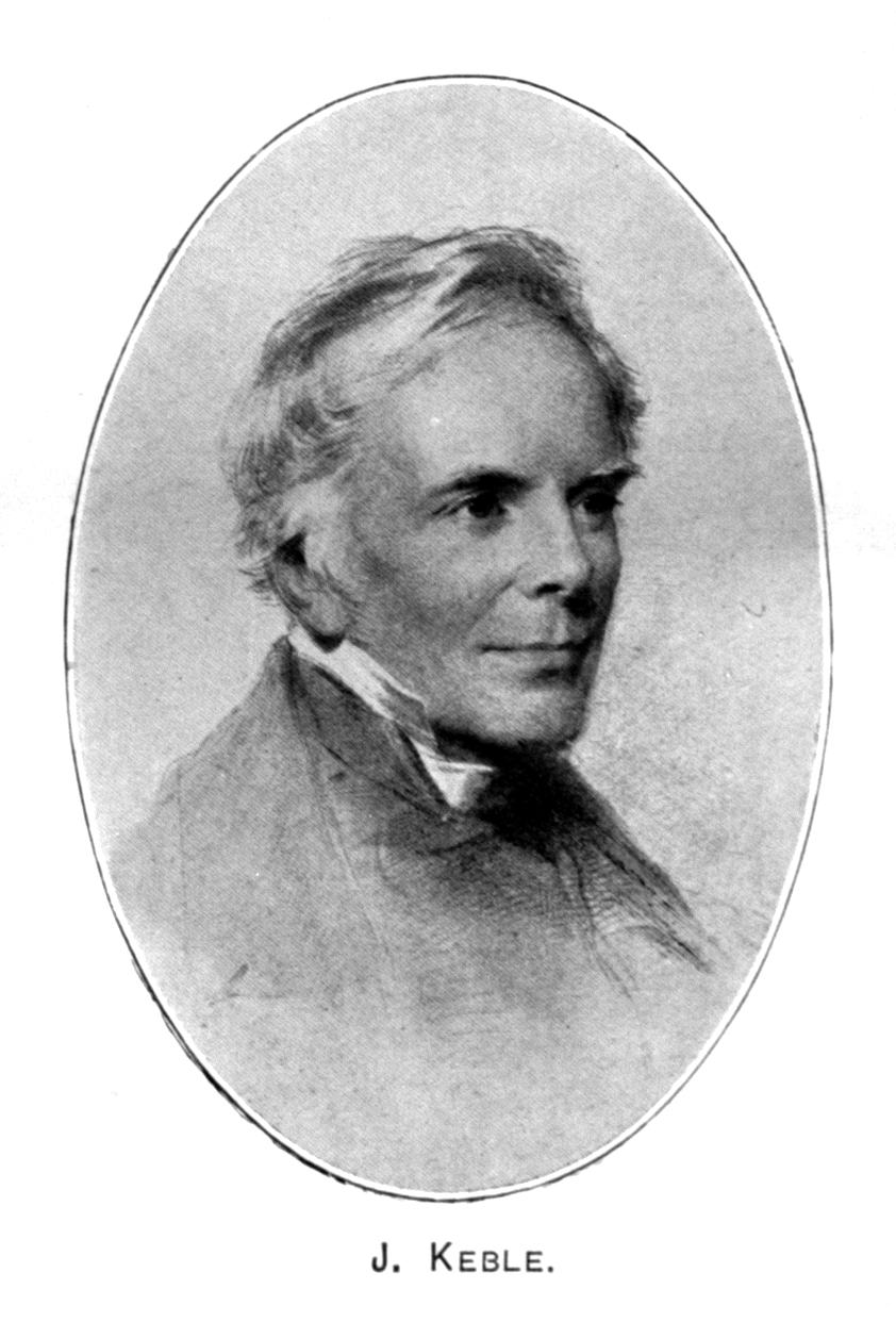 John Keble , from  Hymns Ancient & Modern Historical Edition  (1909).