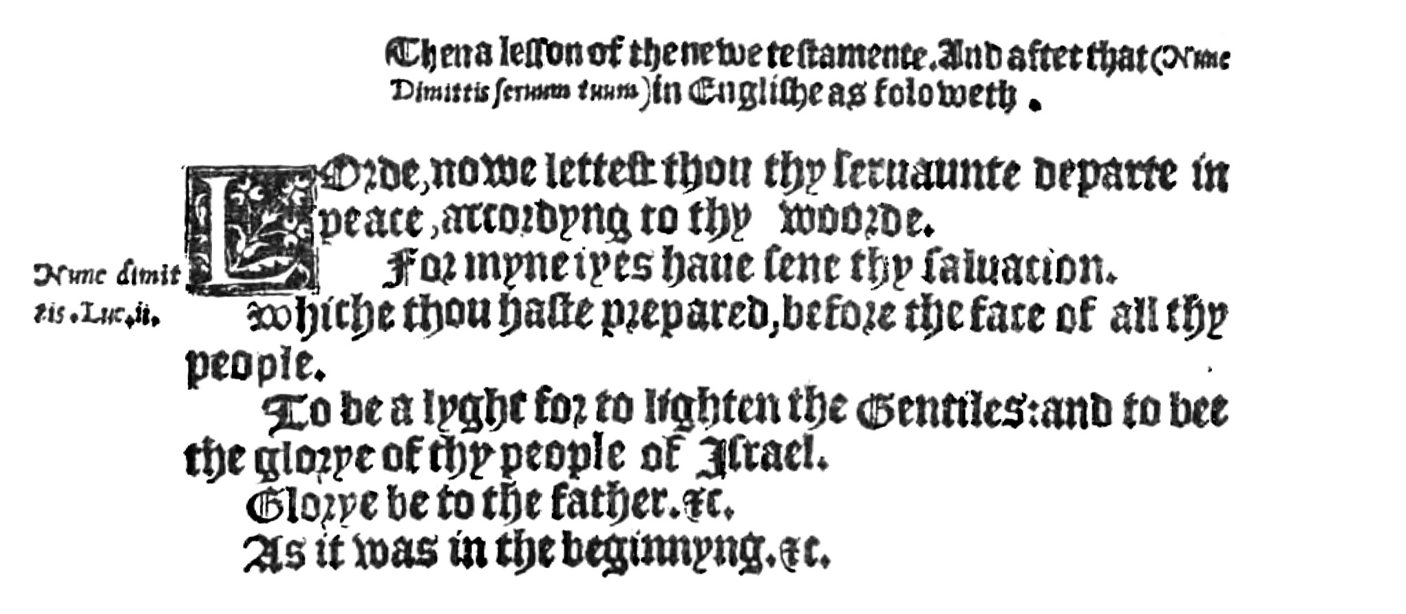 Fig. 2.   The Booke of the Common Prayer  (London, 1549).