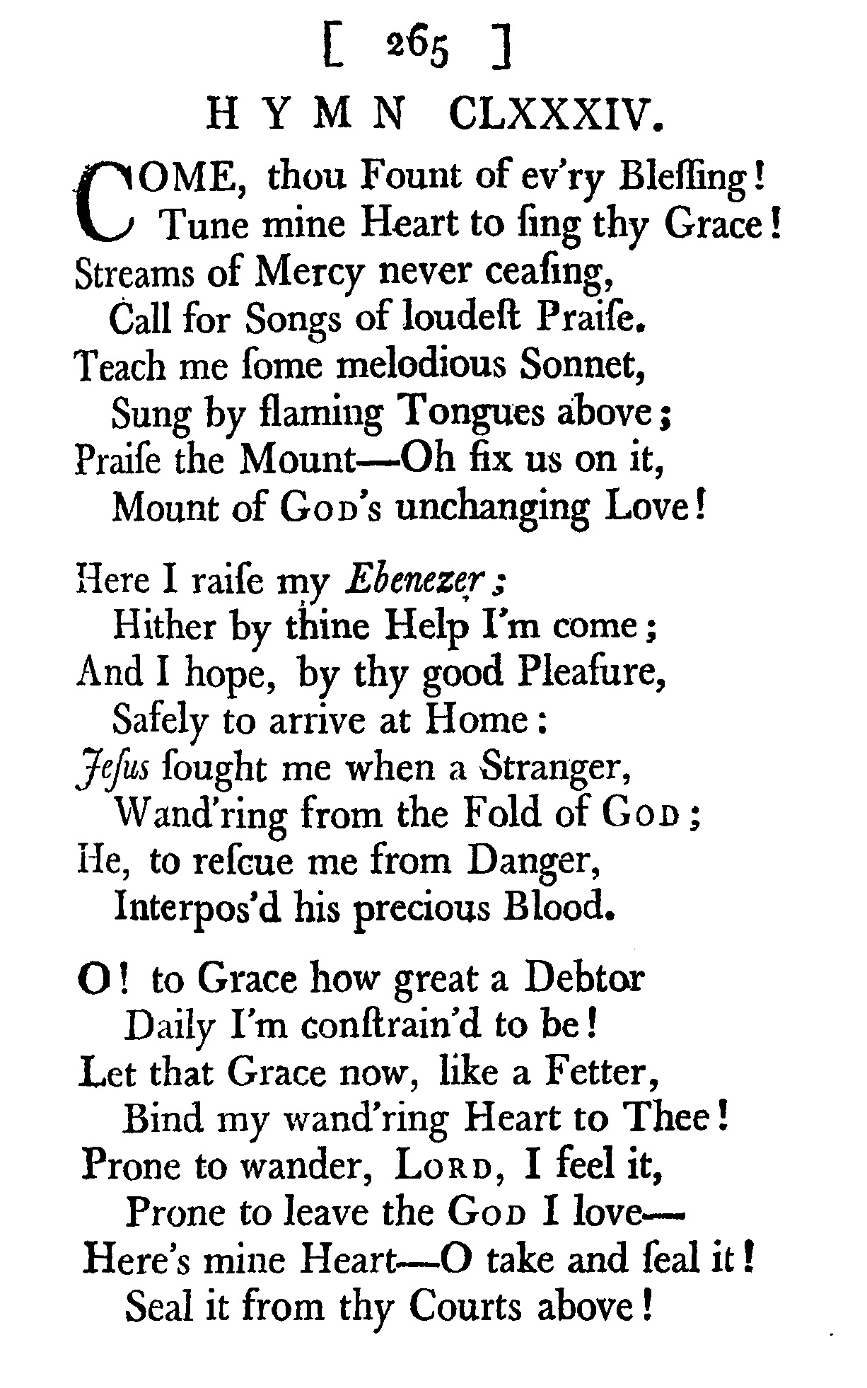 Fig. 4.   The Collection of Hymns Sung in the Countess of Huntingdon's Chapel  (Bath, 1770).