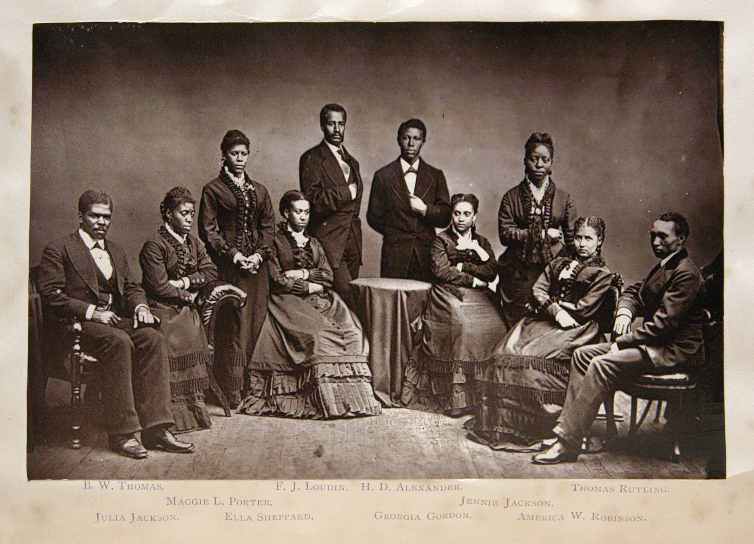 Fisk Jubilee Singers,  in  The Story of the Jubilee Singers, with Their Songs , ed. J.B.T. Marsh (London, 1875).