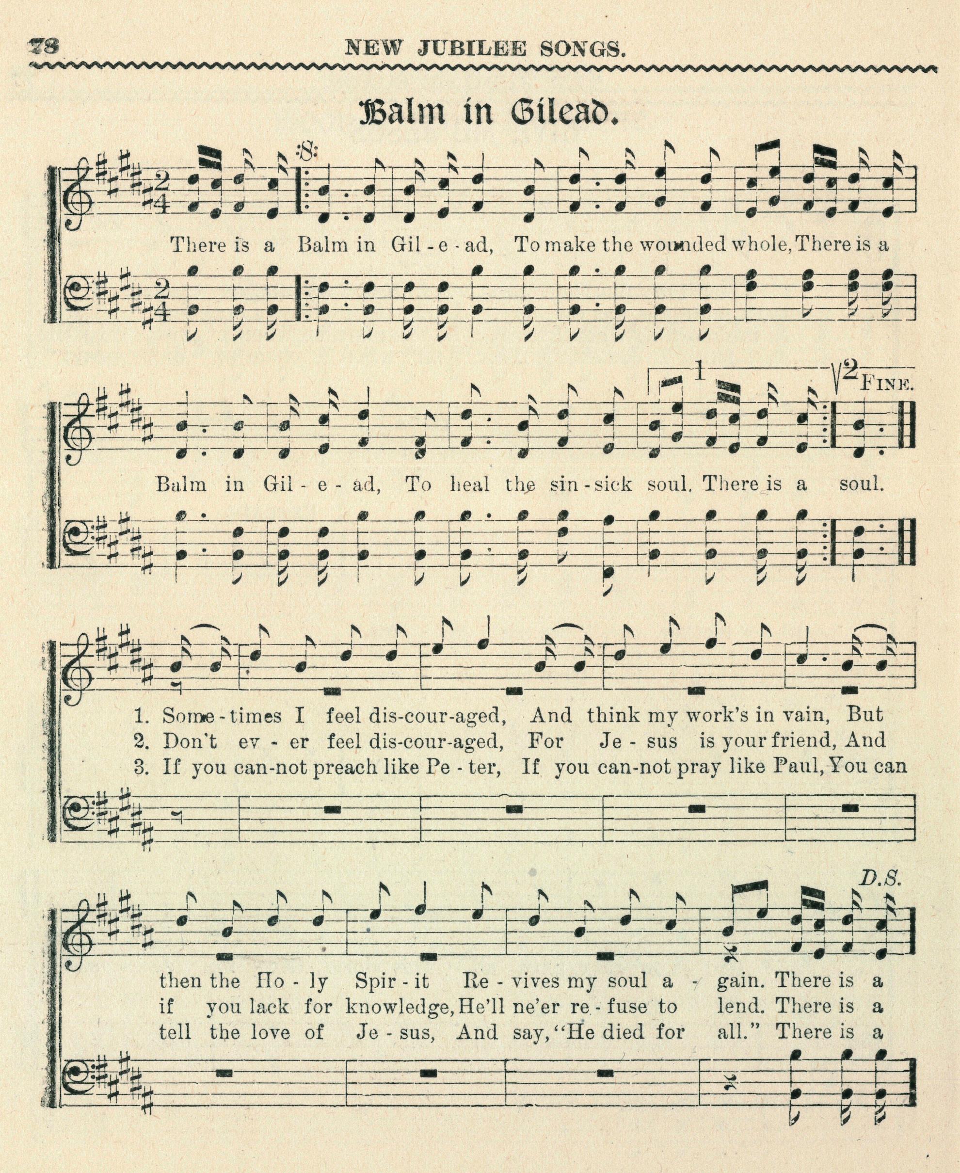 Fig. 5.  Frederick J. Work,  Folk Songs of the American Negro , No. 1 (Nashville: Fisk University, 1907).