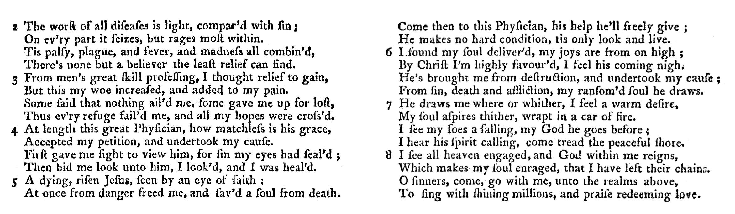 Fig. 2.  Jeremiah Ingalls,  The Christian Harmony  (Exeter, New Hampshire: Henry Ranlet, 1805).