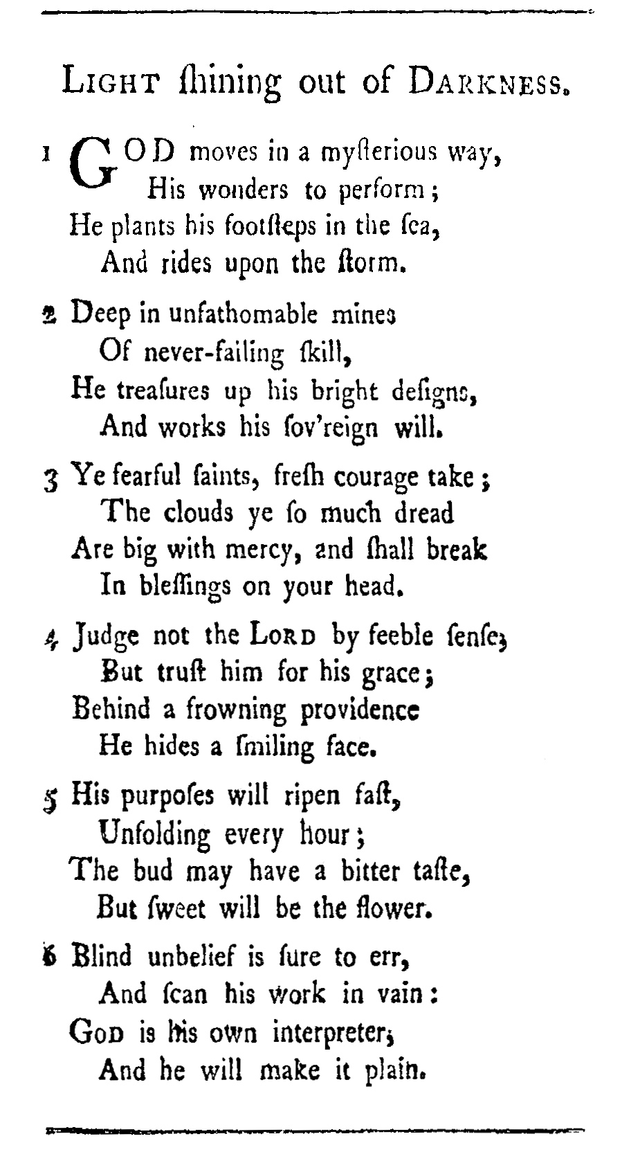 Fig. 1.  John Newton,  Twenty Six Letters on Religious Subjects  (1774).