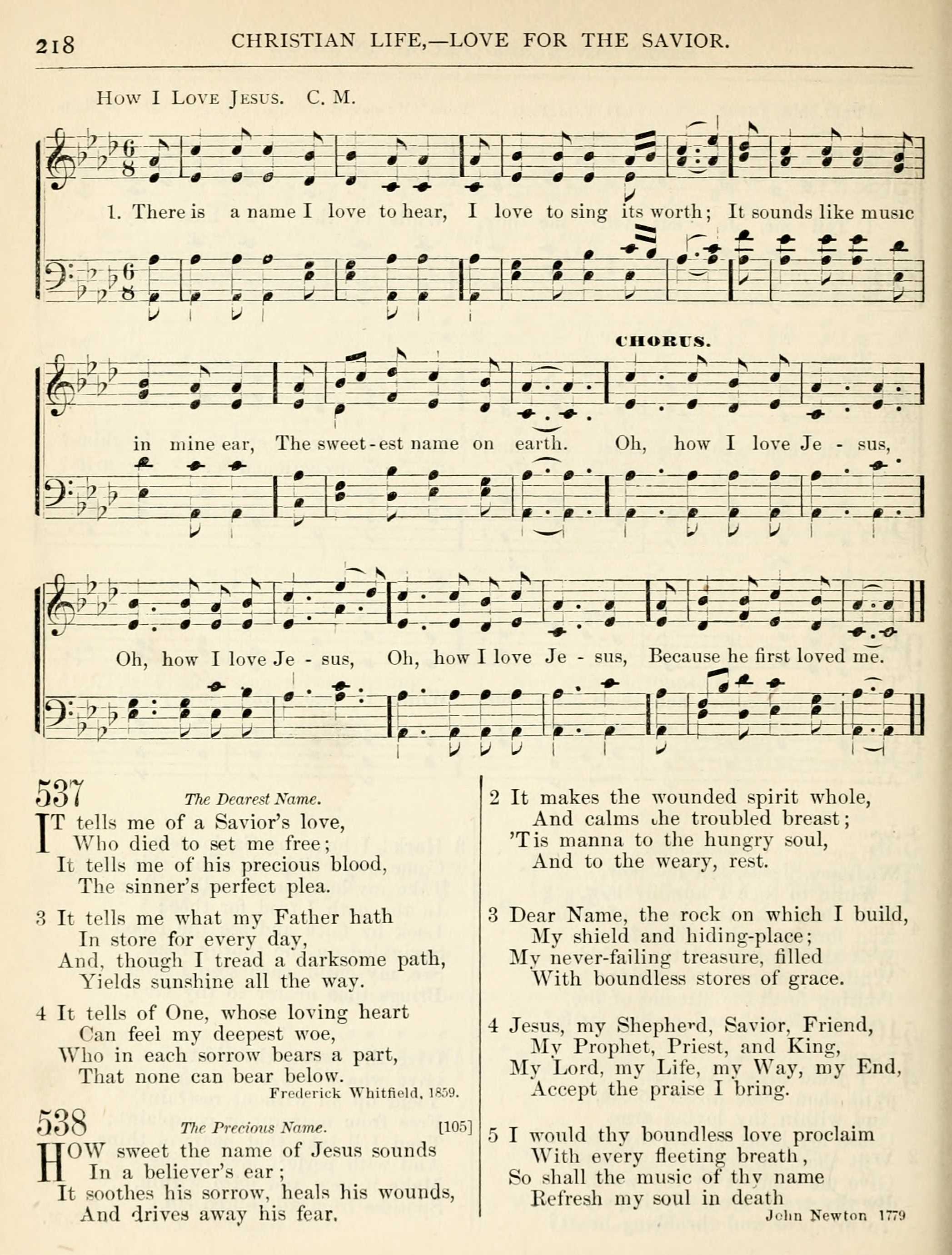 Fig. 5.   Hymns for the Sanctuary and Social Worship  (Dayton: United Brethren, 1874).