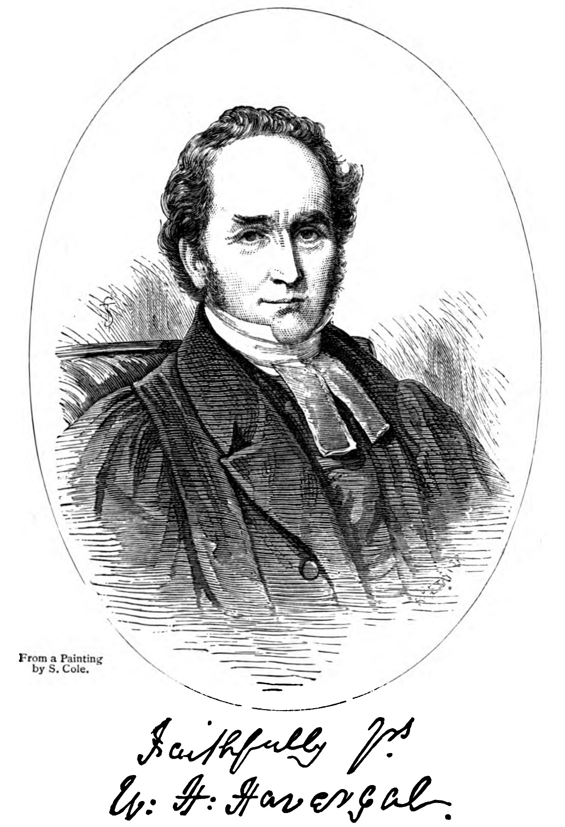 William Henry Havergal , in Jane Miriam Crane,  Records of the Life of the Rev. W.H. Havergal, M.A.  (1883).
