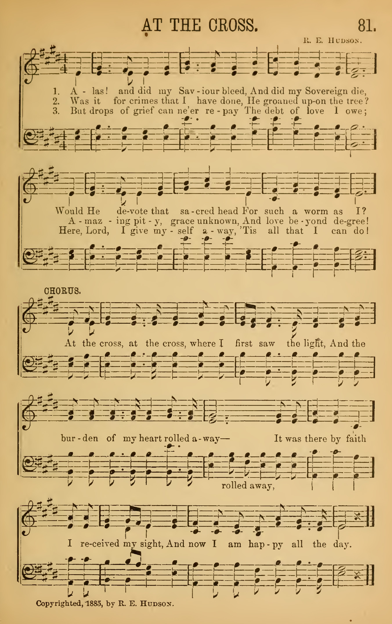 Fig. 4.   Songs of Peace, Love, and Joy  (1885).