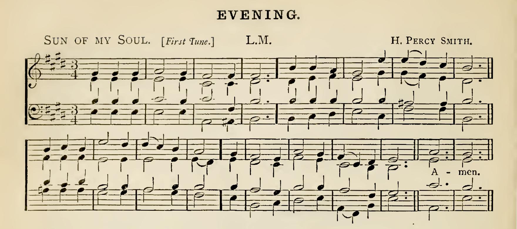 Fig. 6.  Arthur Sullivan,  Church Hymns with Tunes  (London: SPCK, 1874).