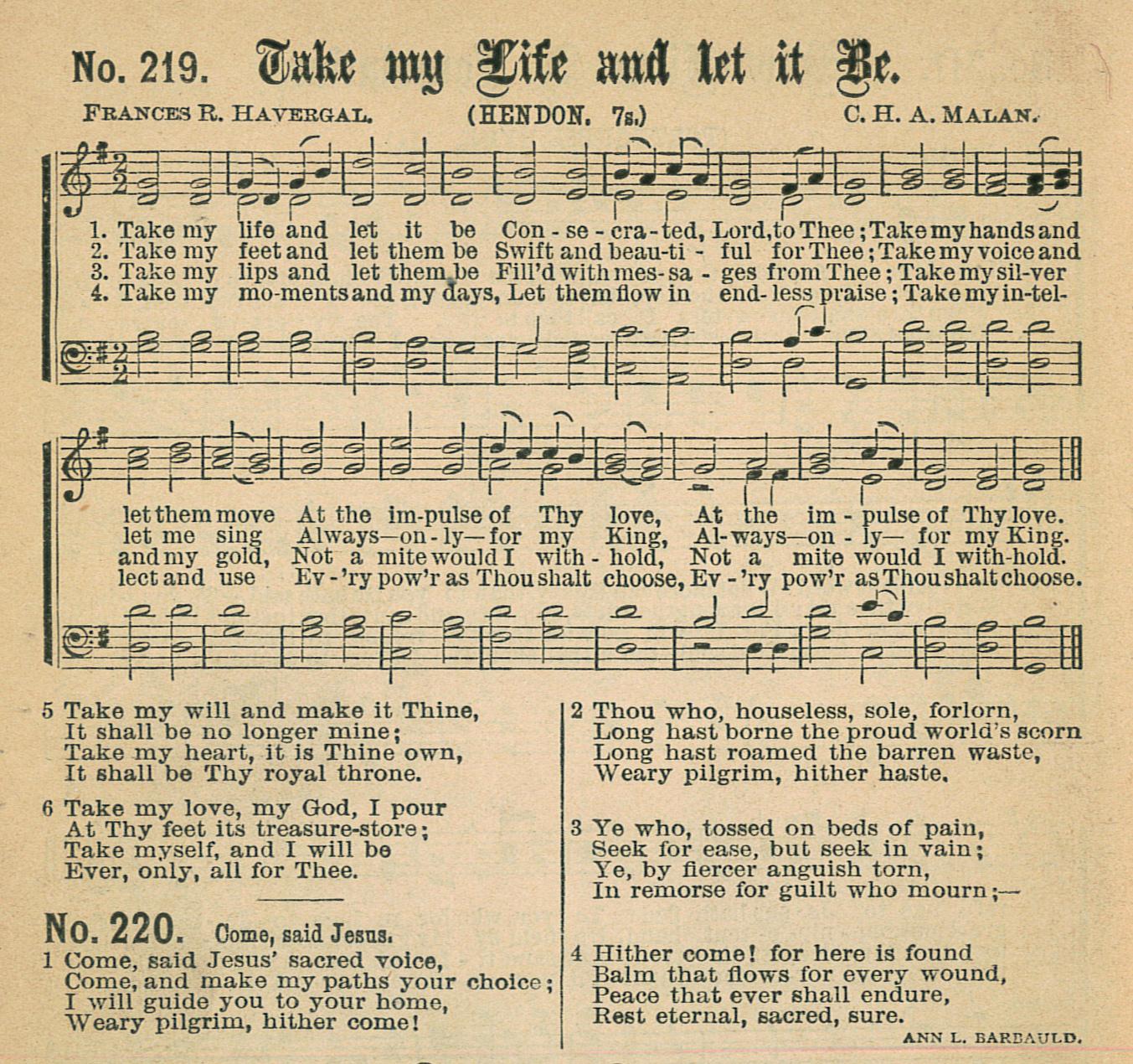 Fig. 7.   Gospel Hymns No. 5  (Chicago: Biglow & Main, 1887).