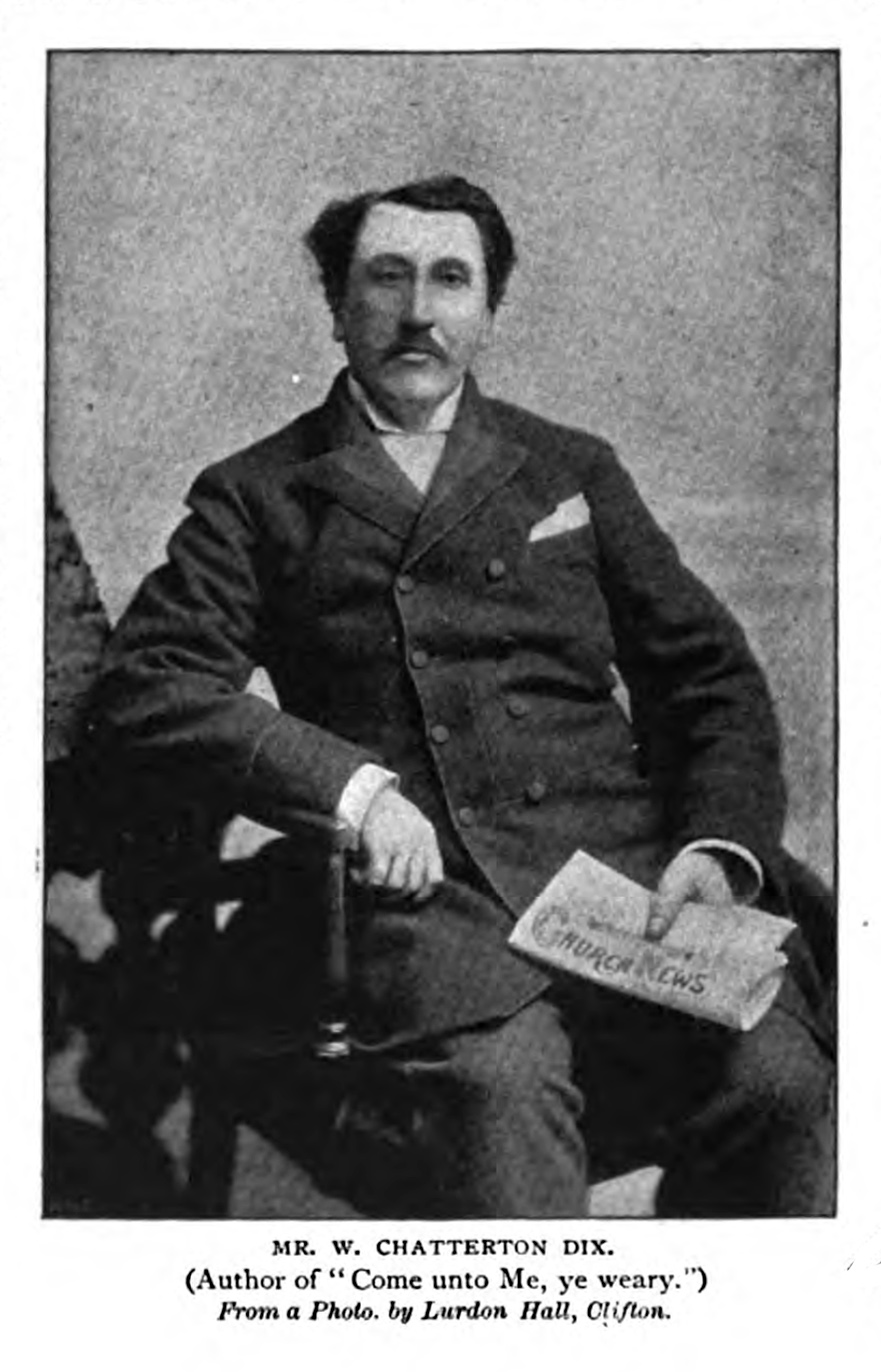 William Chatterton Dix , in  The Strand Magazine,  vol. 9 (May 1895), p. 588.