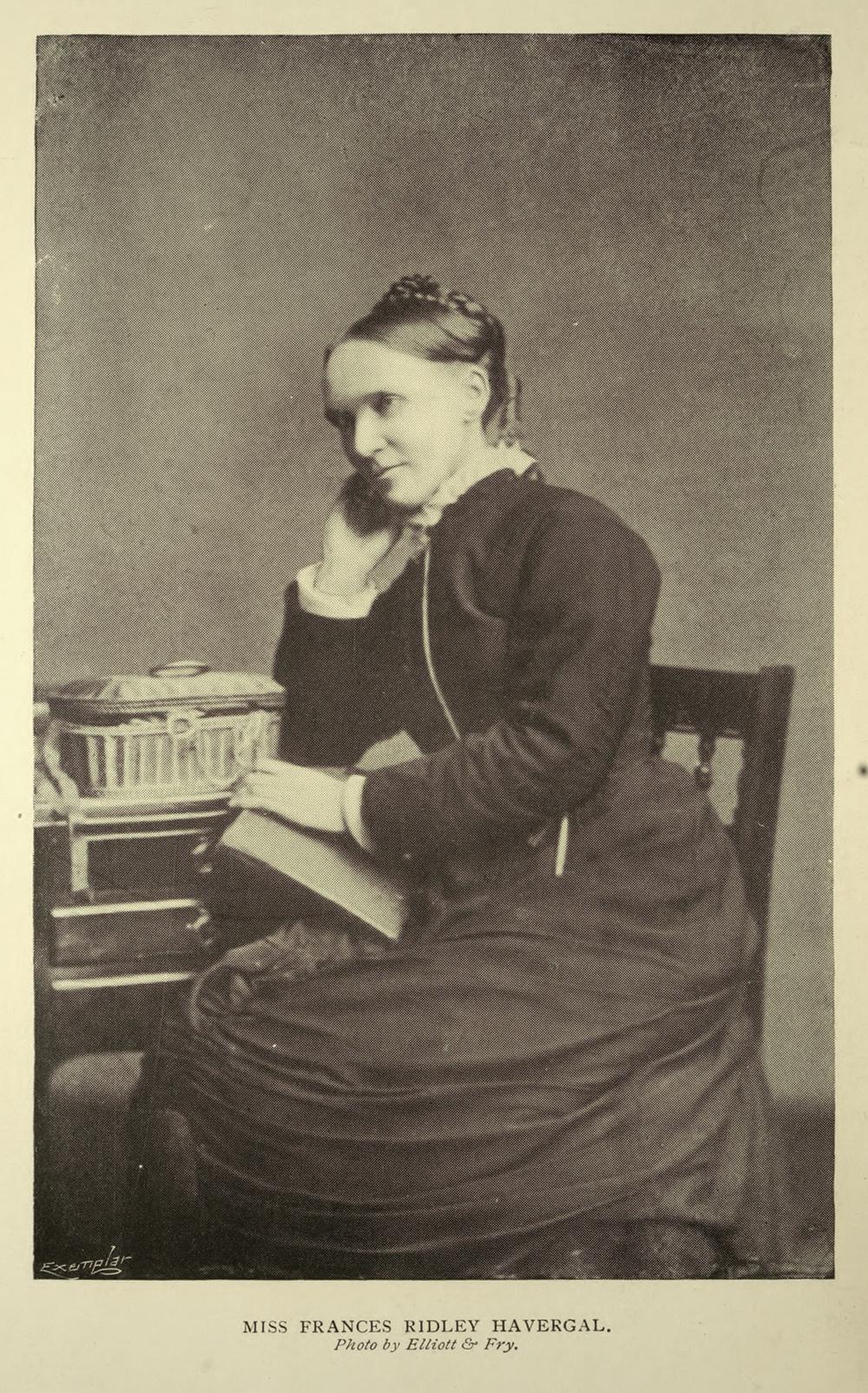 Frances Ridley Havergal , in Francis Arthur Jones,  Famous Hymns and Their Authors  (London: Hodder & Stoughton, 1902).