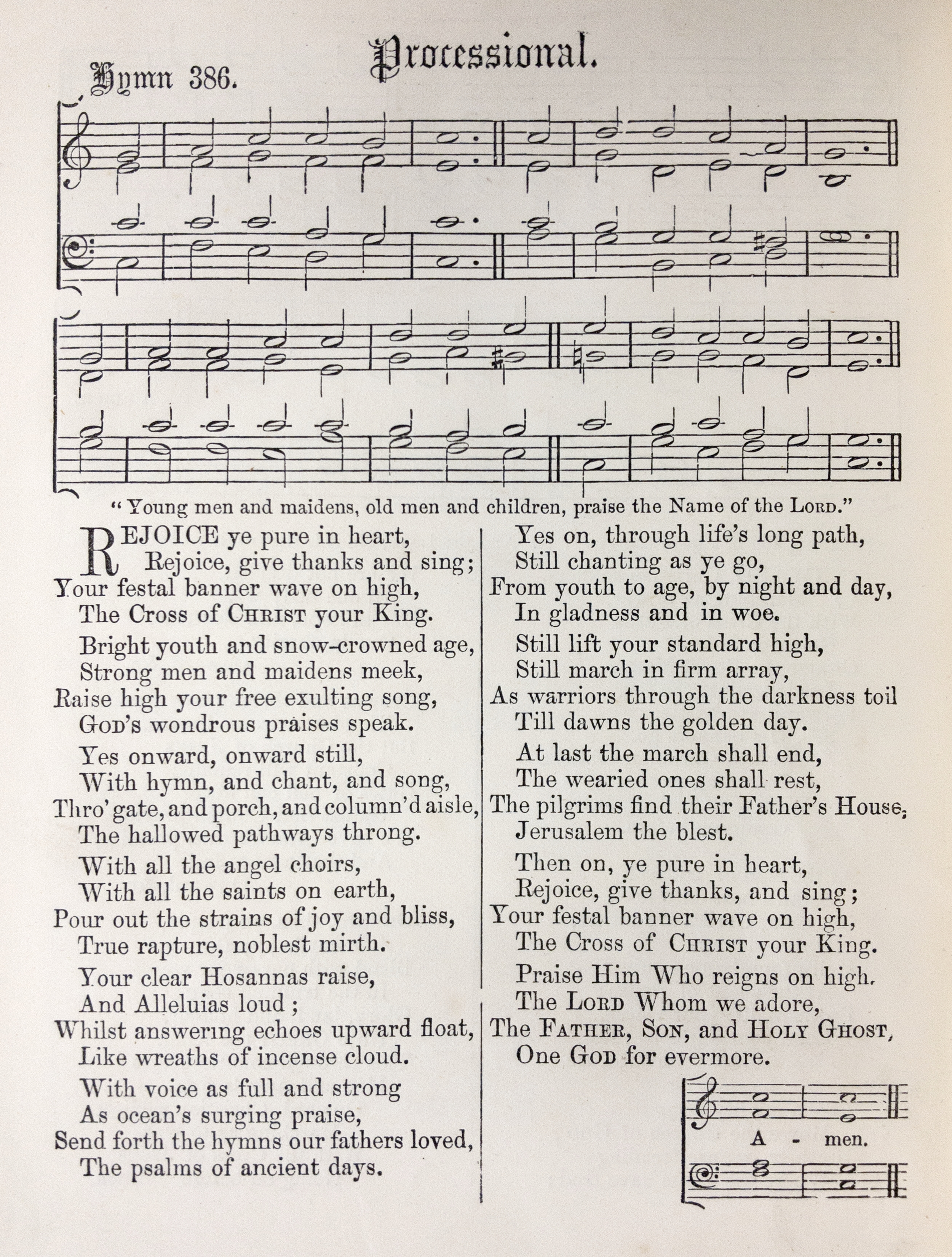 Fig. 2.   Hymns Ancient & Modern with Appendix  (London: William Clowes & Sons, 1868).