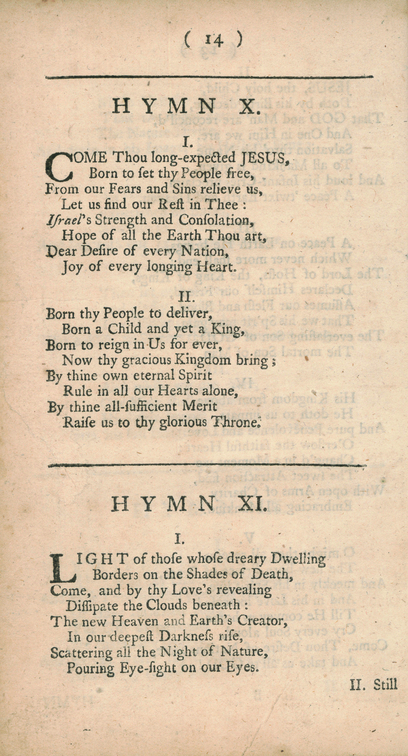 Fig. 1.   Hymns for the Nativity of Our Lord  (1745)