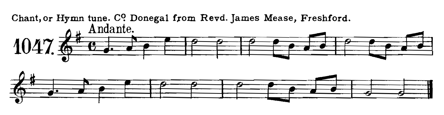 Fig. 4.   The Complete Collection of Irish Music as Noted by George Petrie  (London: Boosey & Co., 1902-1905).