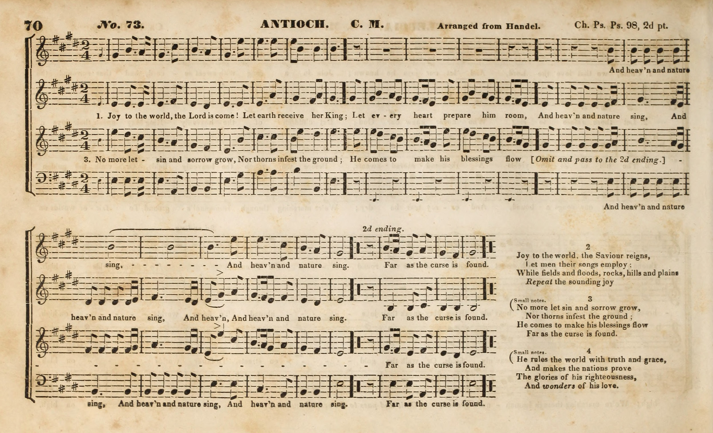 Fig. 6.  Lowell Mason,  Occasional Psalm and Hymn Tunes  (Boston, 1836).