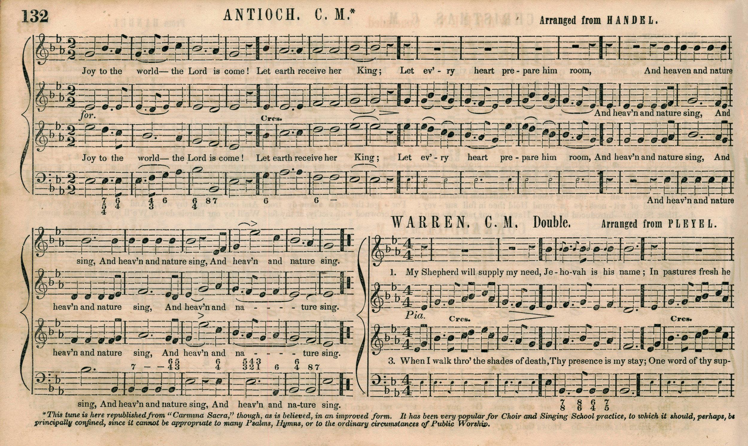 Fig. 7.  Lowell Mason,  The National Psalmist  (1848).