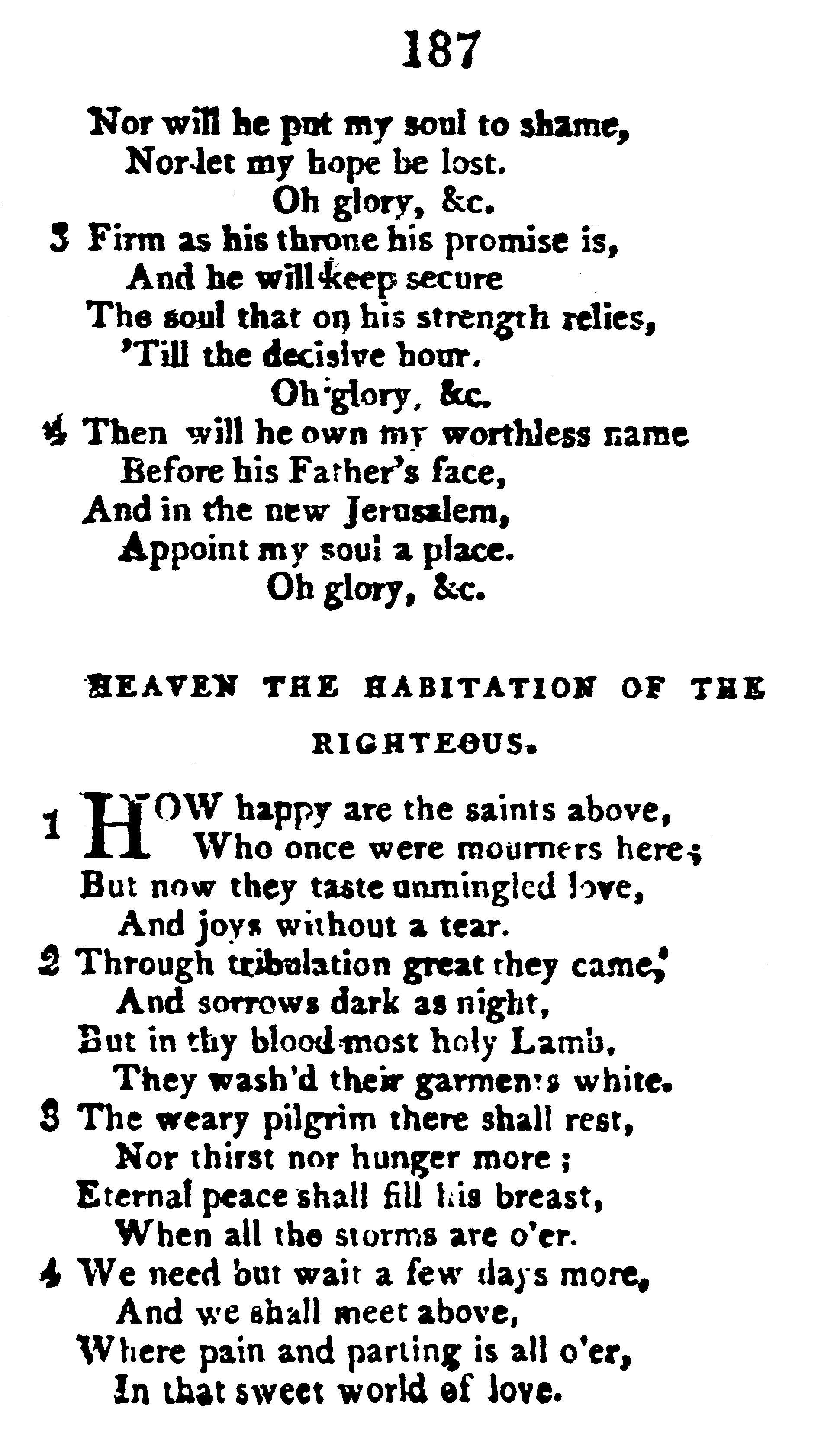 Fig. 3.   Hymns and Spiritual Songs, for the Use of Christians , 8th ed., enlarged (Philadelphia: Jacob Johnson, 1806).