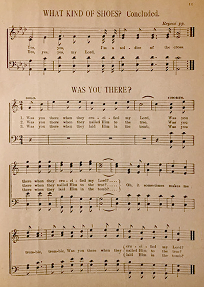 Fig. 1.  M.G. Slayton,  Jubilee Songs as Sung by Slayton's Jubilee Singers  (Chicago: Thayer & Jackson, ca. 1884-1885).
