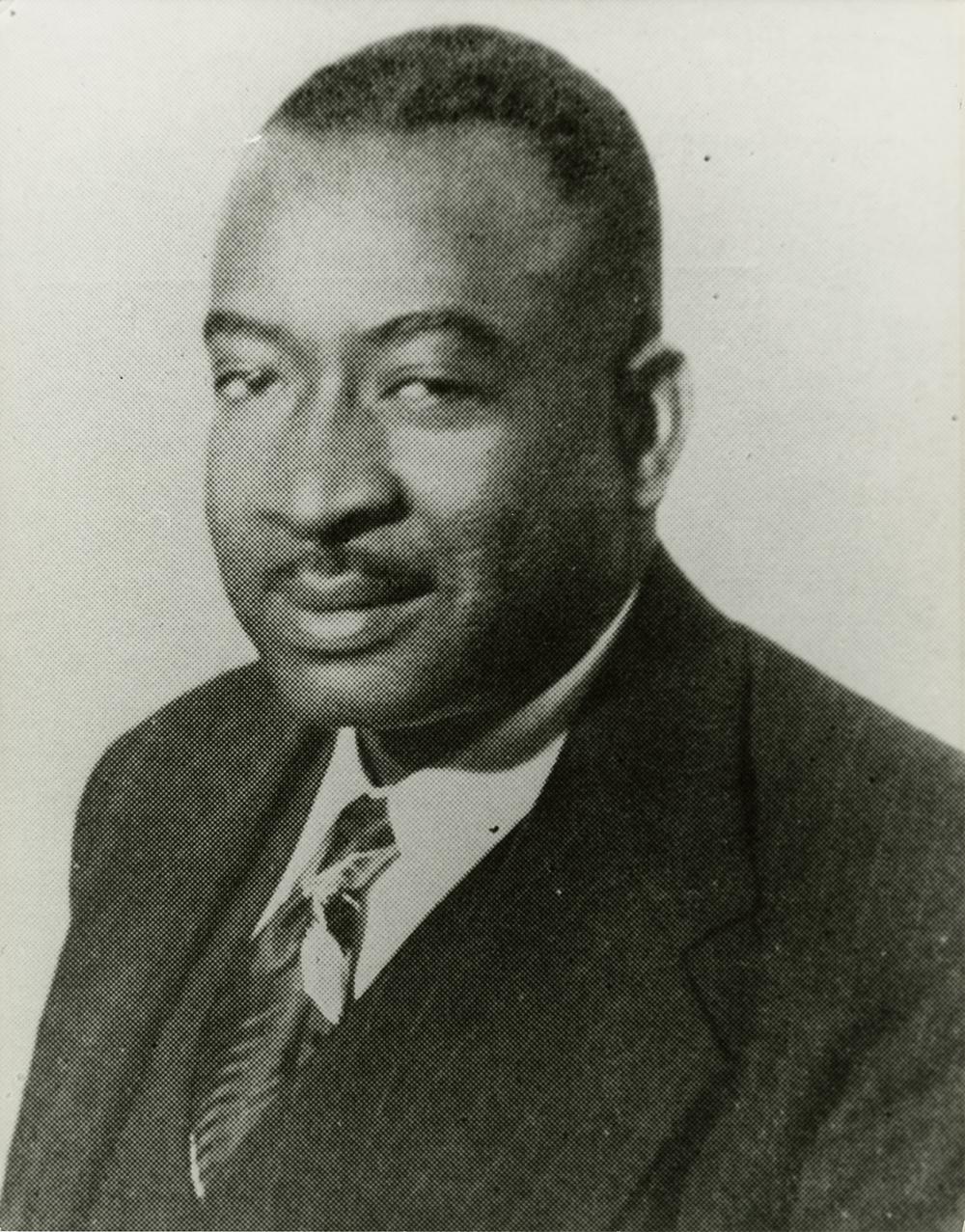 Thomas A. Dorsey  (1945), image courtesy of the Hogan Jazz Archive, Tulane University.