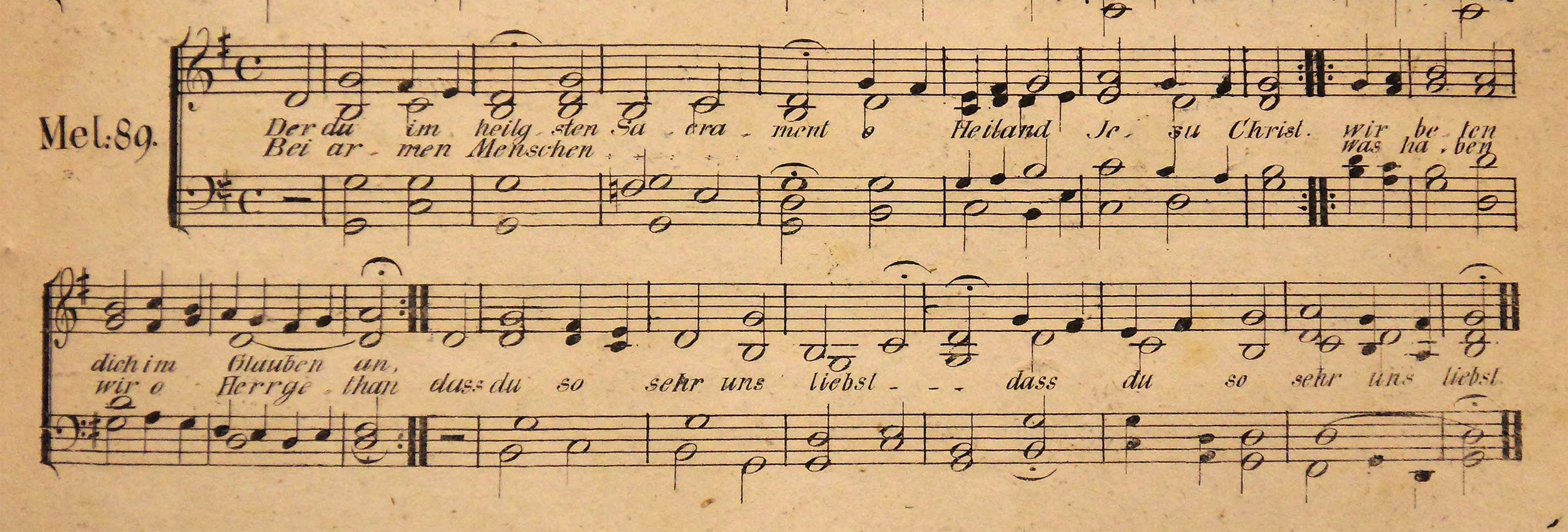 Fig. 4.   Vollstandige⸗Sammlung der gewöhnlichen Melodien zum Mainzer⸗Gesangbuche  (Mainz: Franz Zimmermann, ca. 1827).