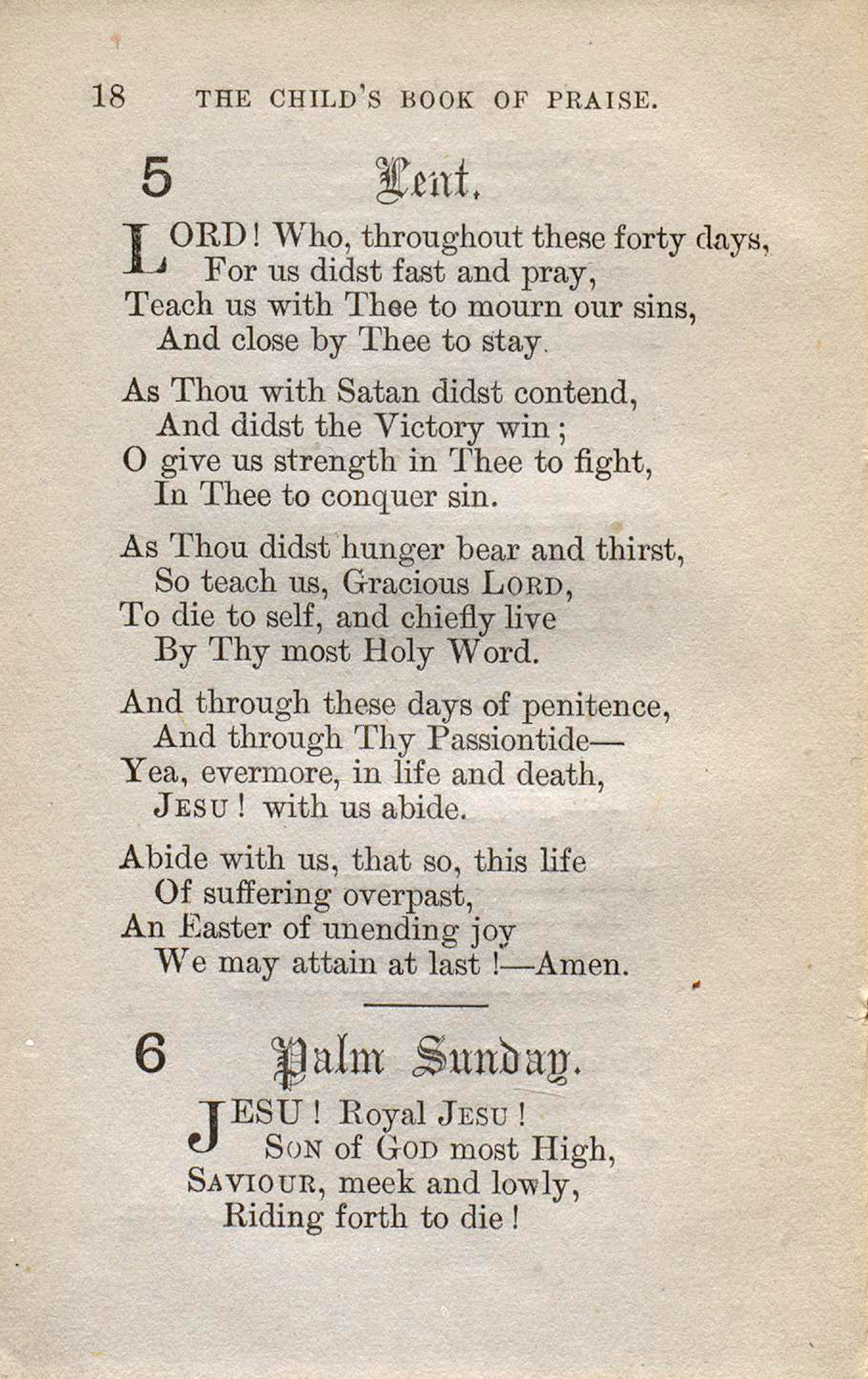 Fig. 1.   The Child's Book of Praise  (London: J.T. Hayes, 1873).