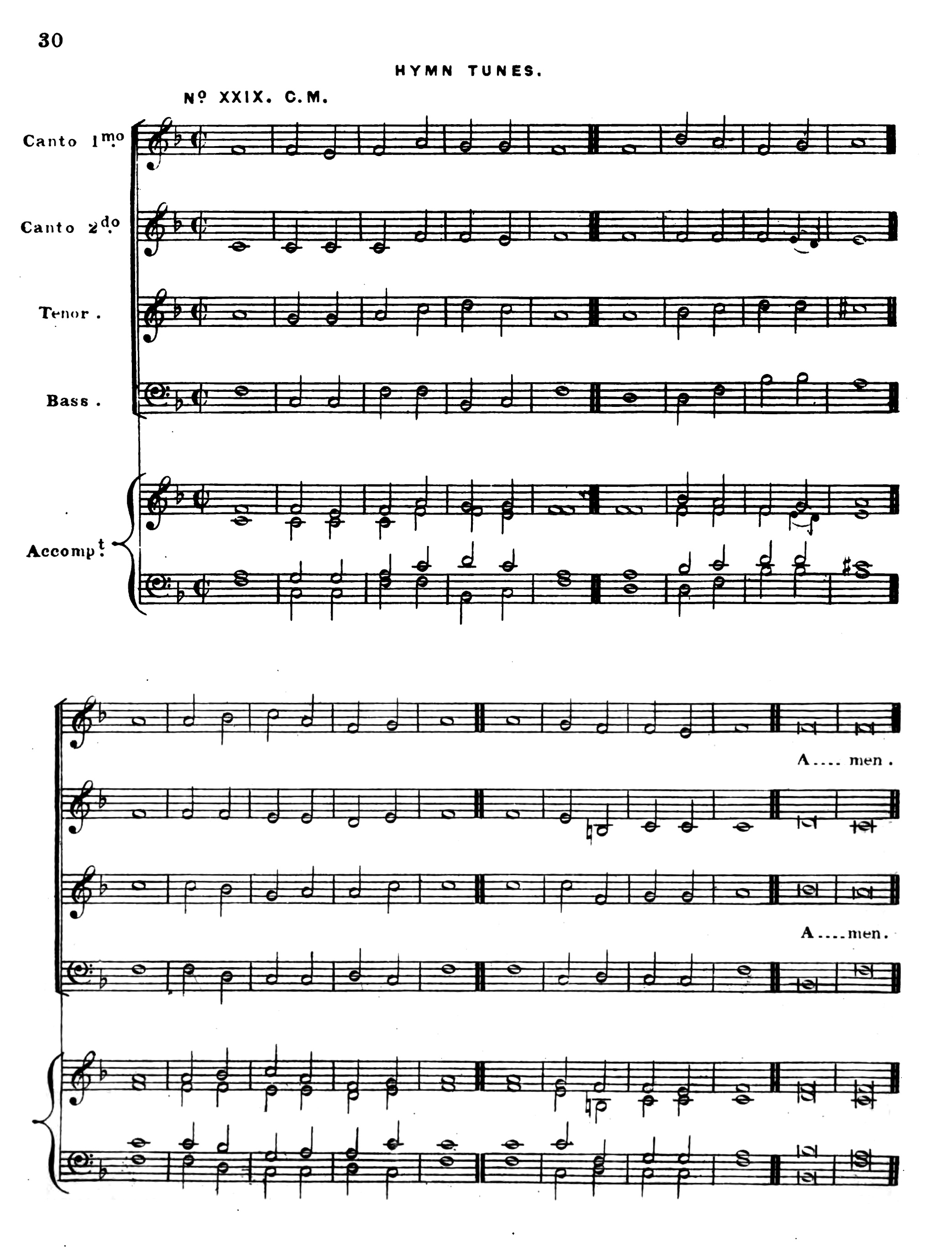Fig. 6.  Richard Redhead,  Church Hymn Tunes Ancient & Modern  (London: I. Masters, 1853).