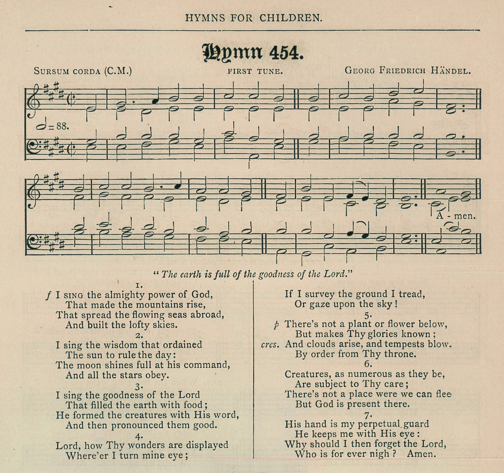 Fig. 5.   Church Hymnal  (Dublin: APCK, 1873).