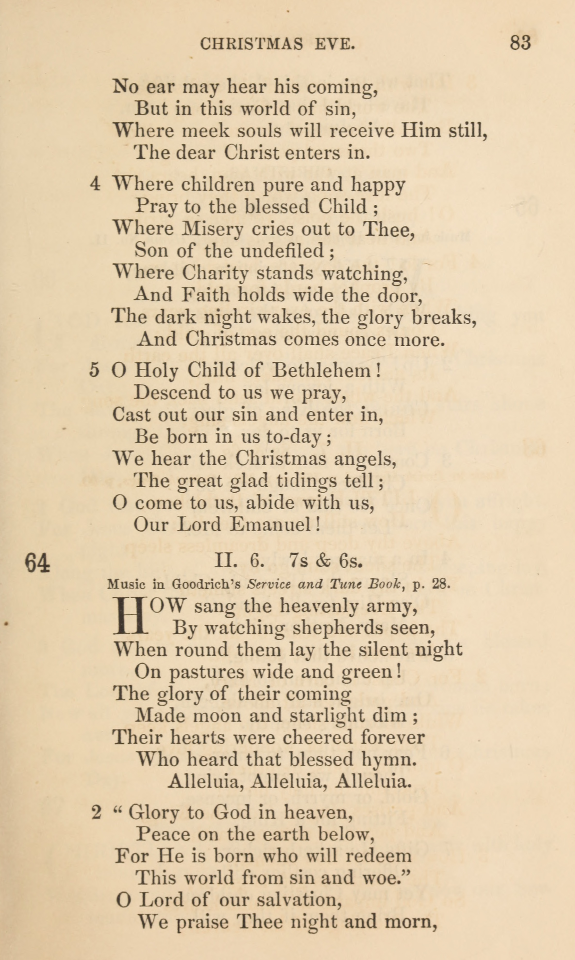 Fig. 1.   Sunday School Service and Hymn Book  (NY: E.P. Dutton, 1870).
