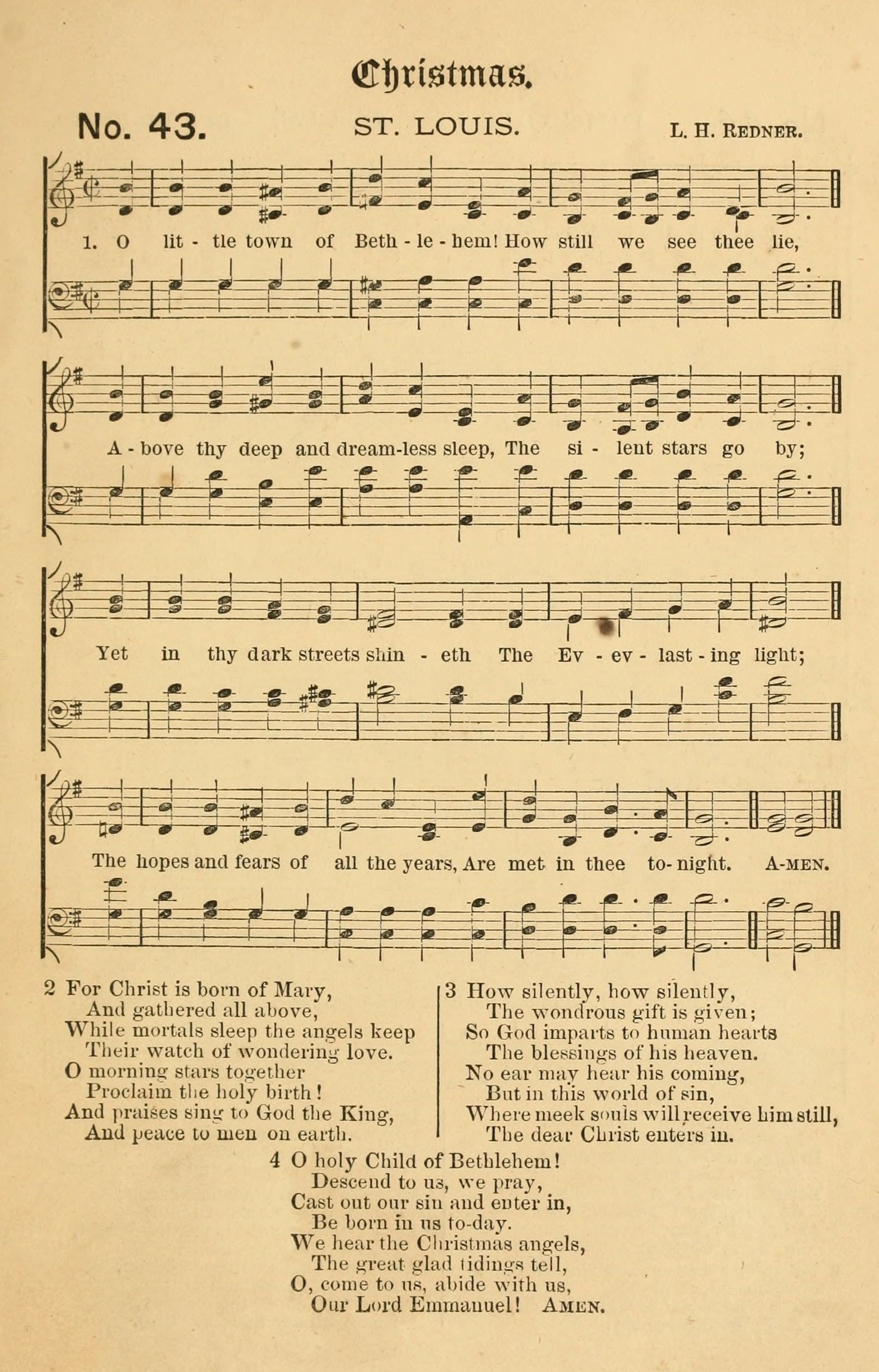 Fig. 2.  William R. Huntington,  The Church Porch: A Service Book and Hymnal for Sunday Schools  (NY: E.P. Dutton, 1874).