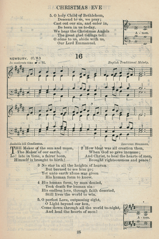 Fig. 4.   The English Hymnal  (Oxford: University Press, 1906).