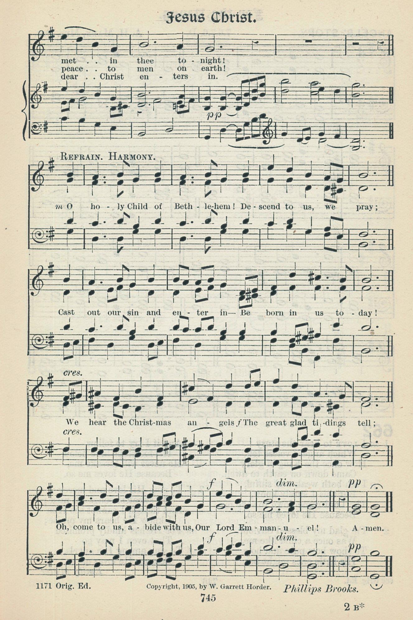 Fig. 5.  W. Garrett Horder,  Worship Song with Accompanying Tunes  (London: Novello, 1905).