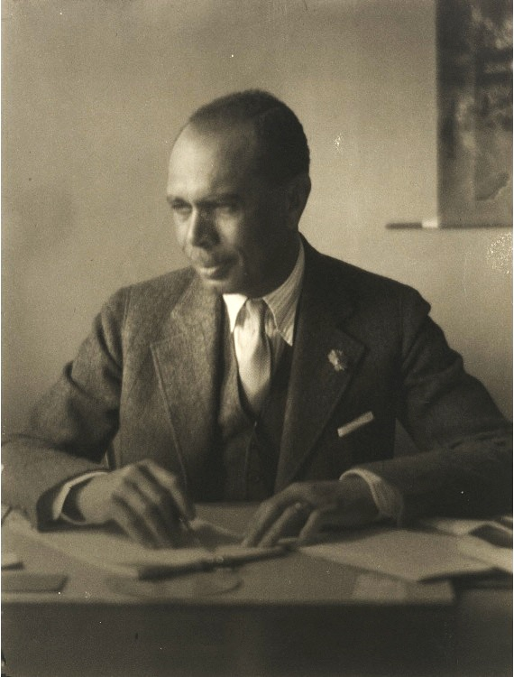 James Weldon Johnson , photo by Doris Ulmann, ca. 1925, National Portrait Gallery, Smithsonian Institution ( NPG.79.114 ).