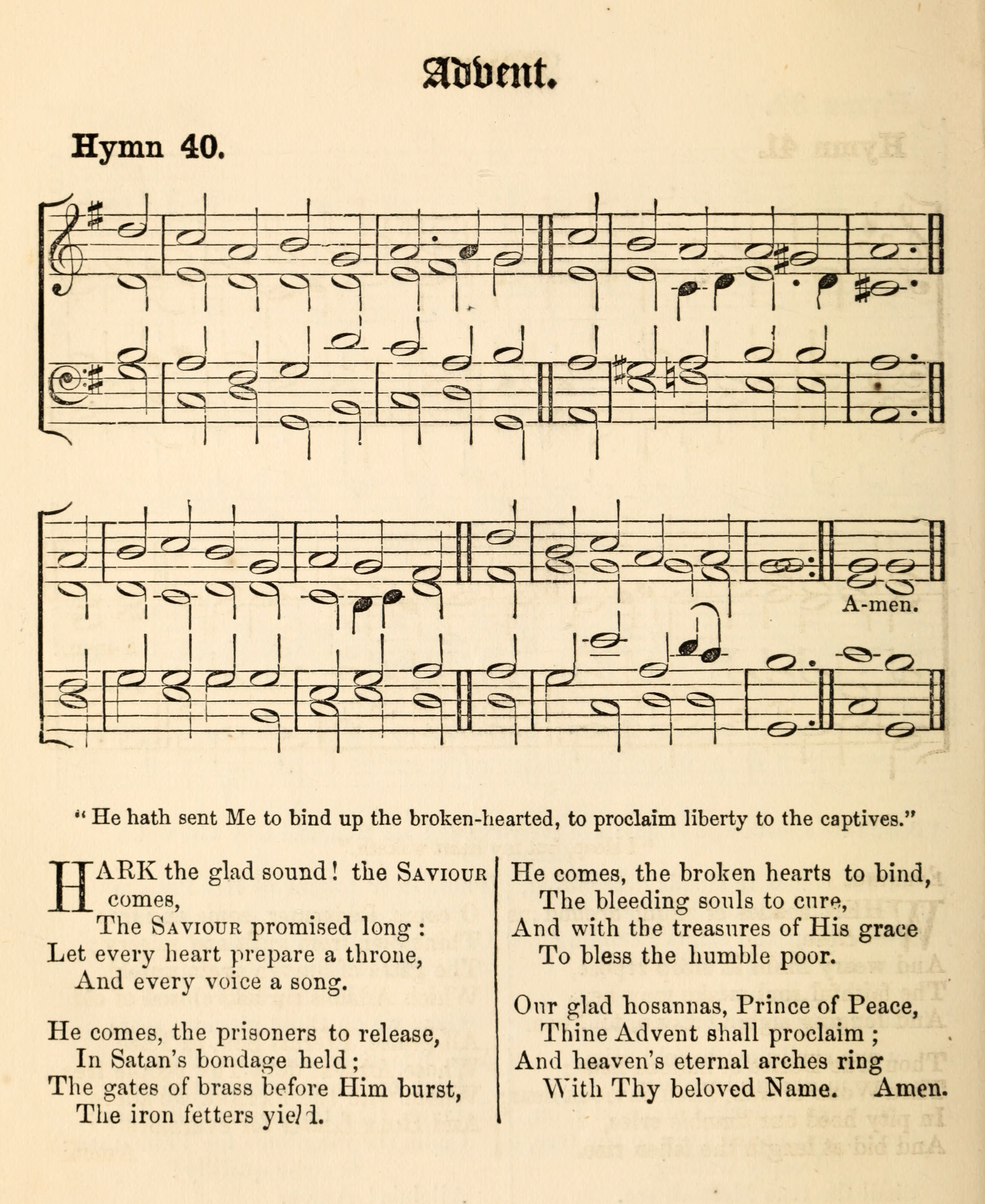 Fig. 9.   Hymns Ancient & Modern  (London: Novello, 1861).