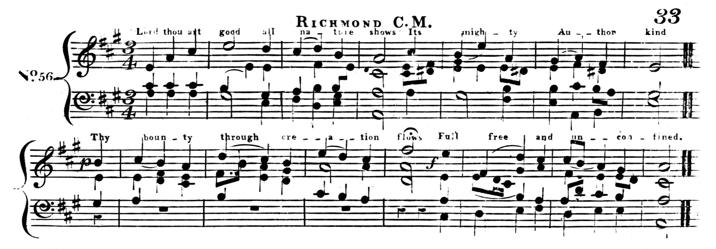 Fig. 4.  Samuel Webbe Jr.,  A Collection of Psalm Tunes Intermixed with Airs,  3rd ed. (London: Clementi & Co., 1816).