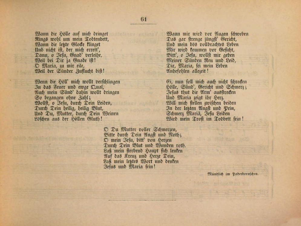 Fig. 4.   Geistliche Volkslieder  (Paderborn, Ferdinand Schöningk, 1850).