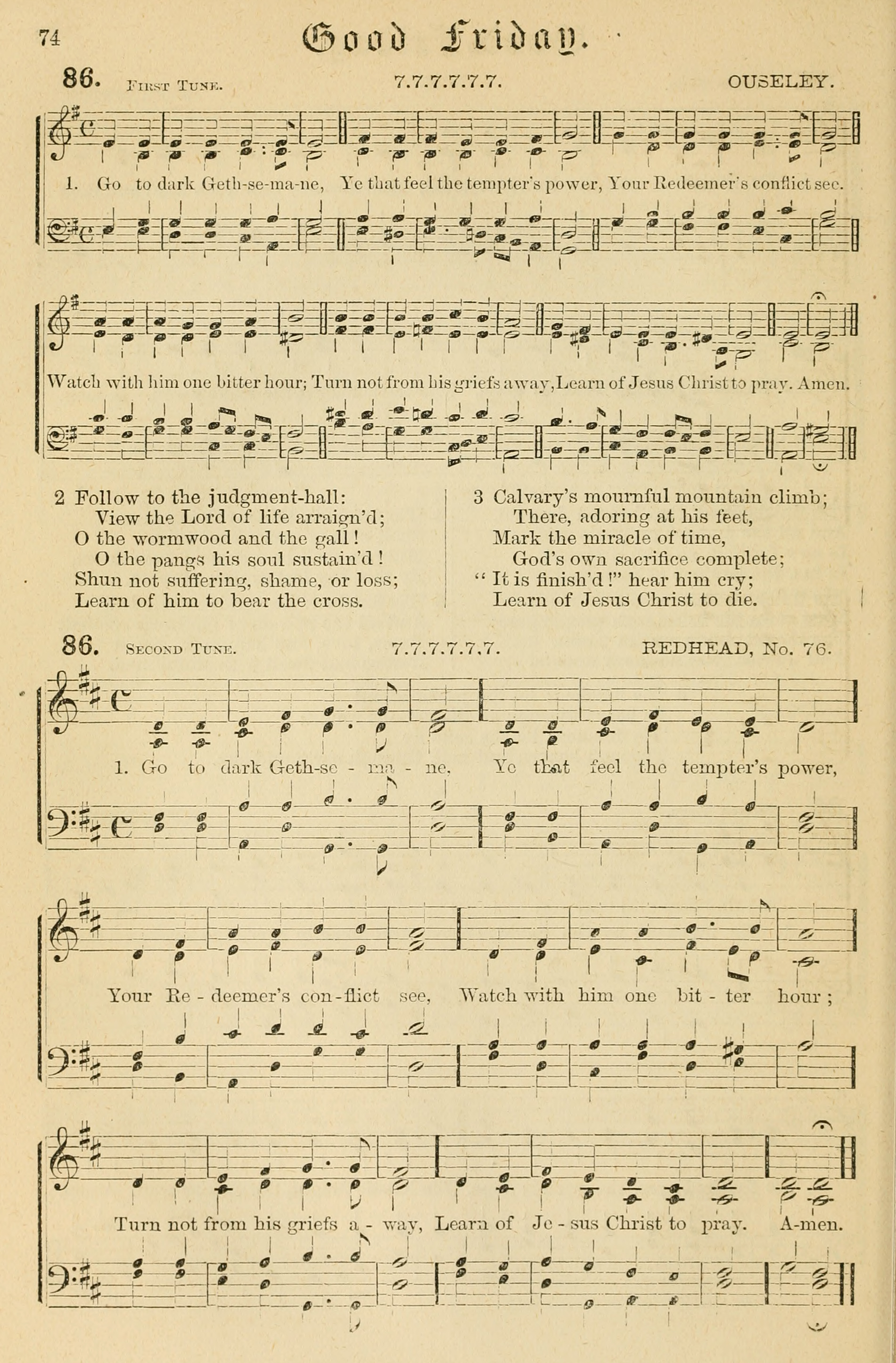 Fig. 5.   Hymnal of the Protestant Episcopal Church with Music , ed. A.B. Goodrich & Walter B. Gilbert (NY: E.P. Dutton, 1872).