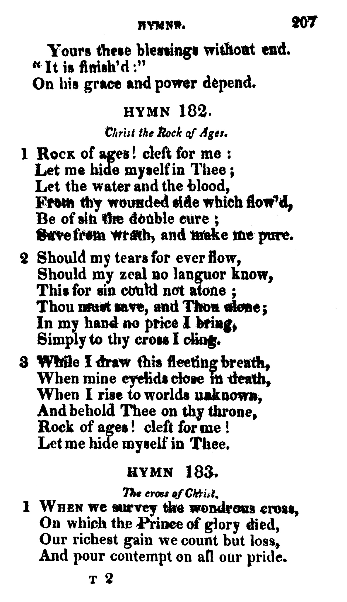 Fig. 5.  Thomas Cotterill,  Selection of Psalms and Hymns for Public and Private Use , 5th ed. (1814).